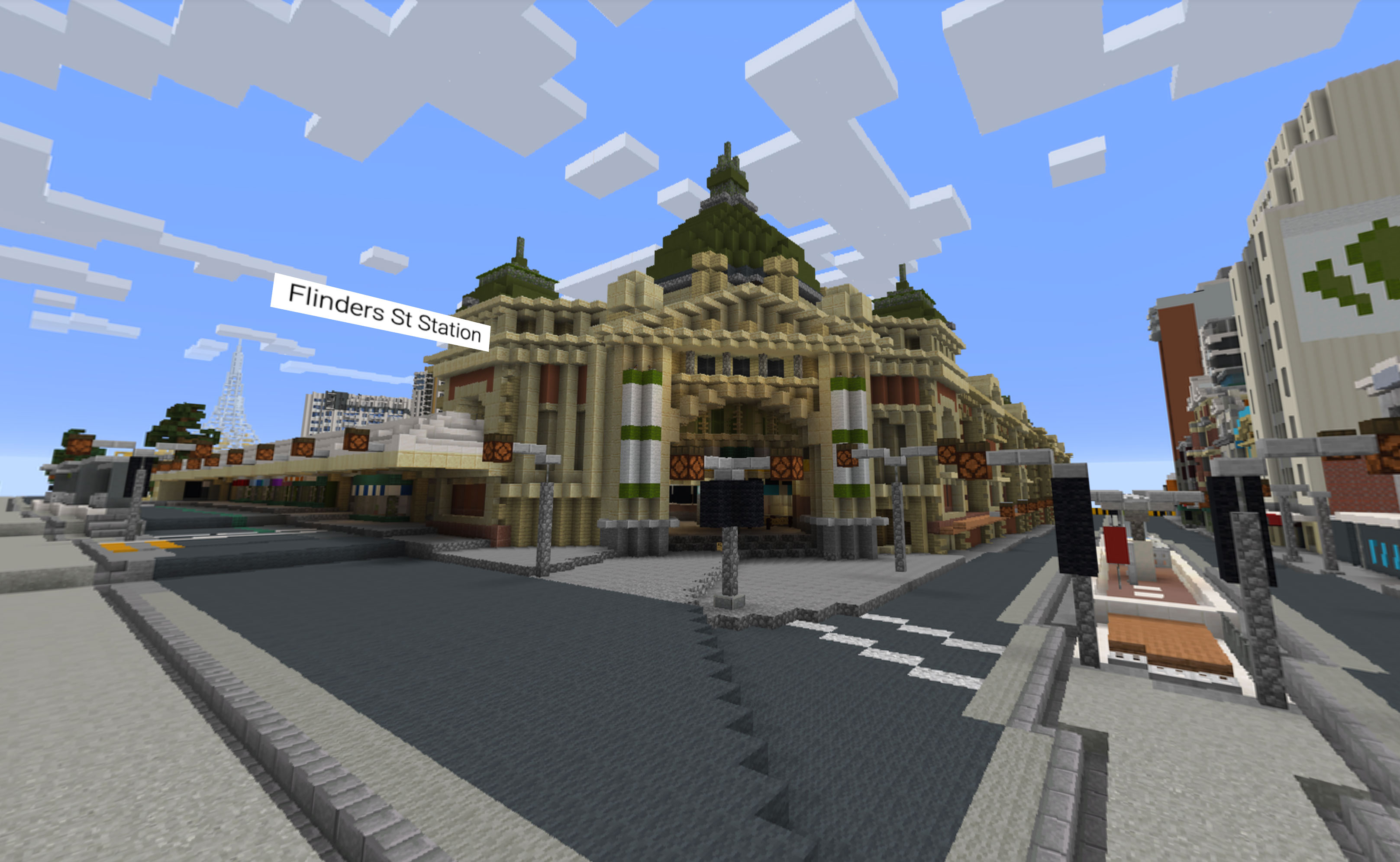 Minecraft.                 A Melbourne History